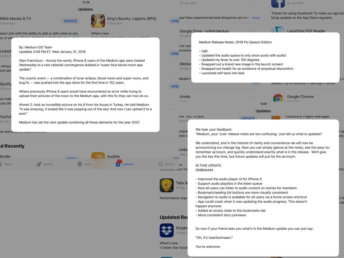 Medium-App-Store-Release-Notes